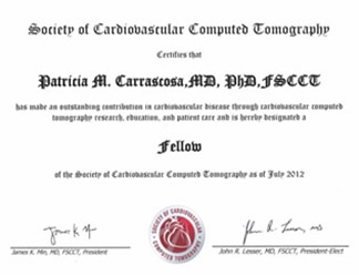 FELLOW OF THE SOCIETY OF CARDIOVASCULAR COMPUTED TOMOGRAPHY